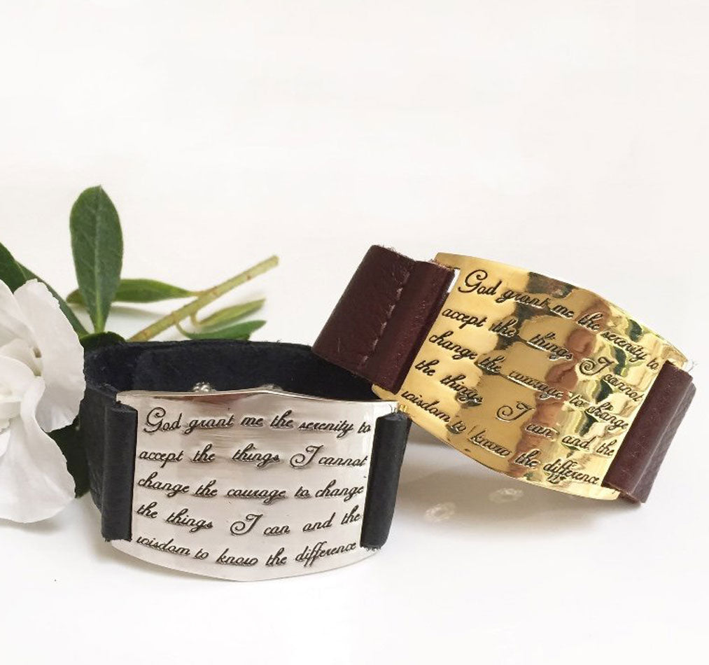 Lisa Stewart Leather Serenity Bracelet 3