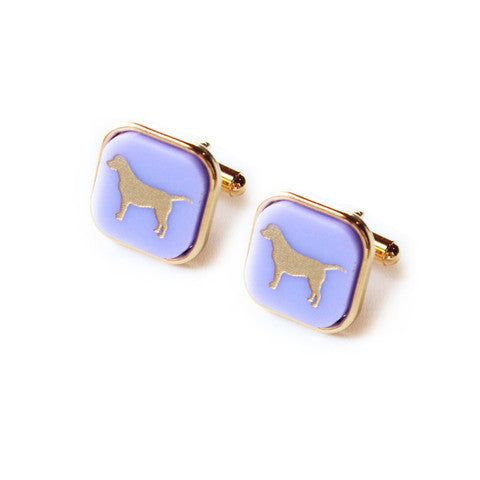 Eden Personalized Square Cuff Links by Moon and Lola Apparel & Accessories > Jewelry > Cufflinks - 3