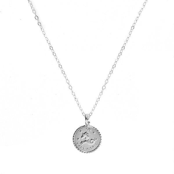 Zodiac Necklace by Moon and Lola Apparel & Accessories > Jewelry > Necklaces - 7