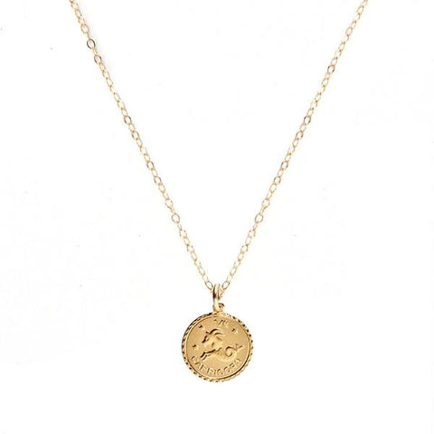 Zodiac Necklace by Moon and Lola Apparel & Accessories > Jewelry > Necklaces - 1