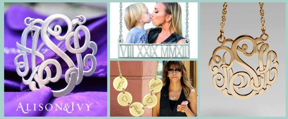 Alison and Ivy Personalized Jewelry