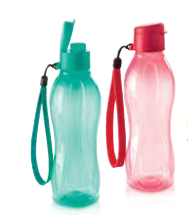 Eco Bottles 500ml with Strap! 2 colours