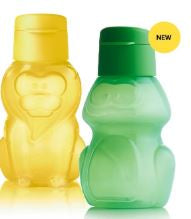 Eco Bottles Lion and Frog- new animals!
