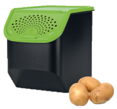 G002 Potatosmart / G003 Onion Garlic Keepers 5.5L and 8.3L - Stackable
