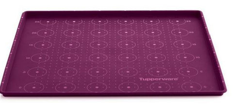 L029 Silicone Baking Sheet with RIM - Snazzy Purple!