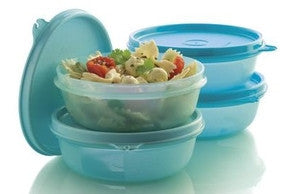 C068 Space Saver Left Over Bowls 300ml (x4)