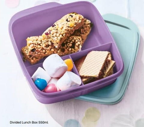 Divided Lunch Box - 550ml - Save 15% for a set of 2