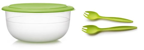 Exclusive Collection Bowl, 6L Lettuce seal with Salad Servers!