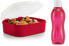 Healthy Snack Box Plus Eco Bottle Set