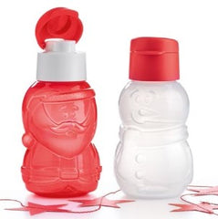 Snowman and Santa for Christmas Eco Bottle - 350ml - choose!