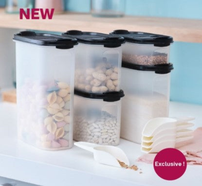New Ovals Space Saver Set - Storage 1 Special + 5 Scoops
