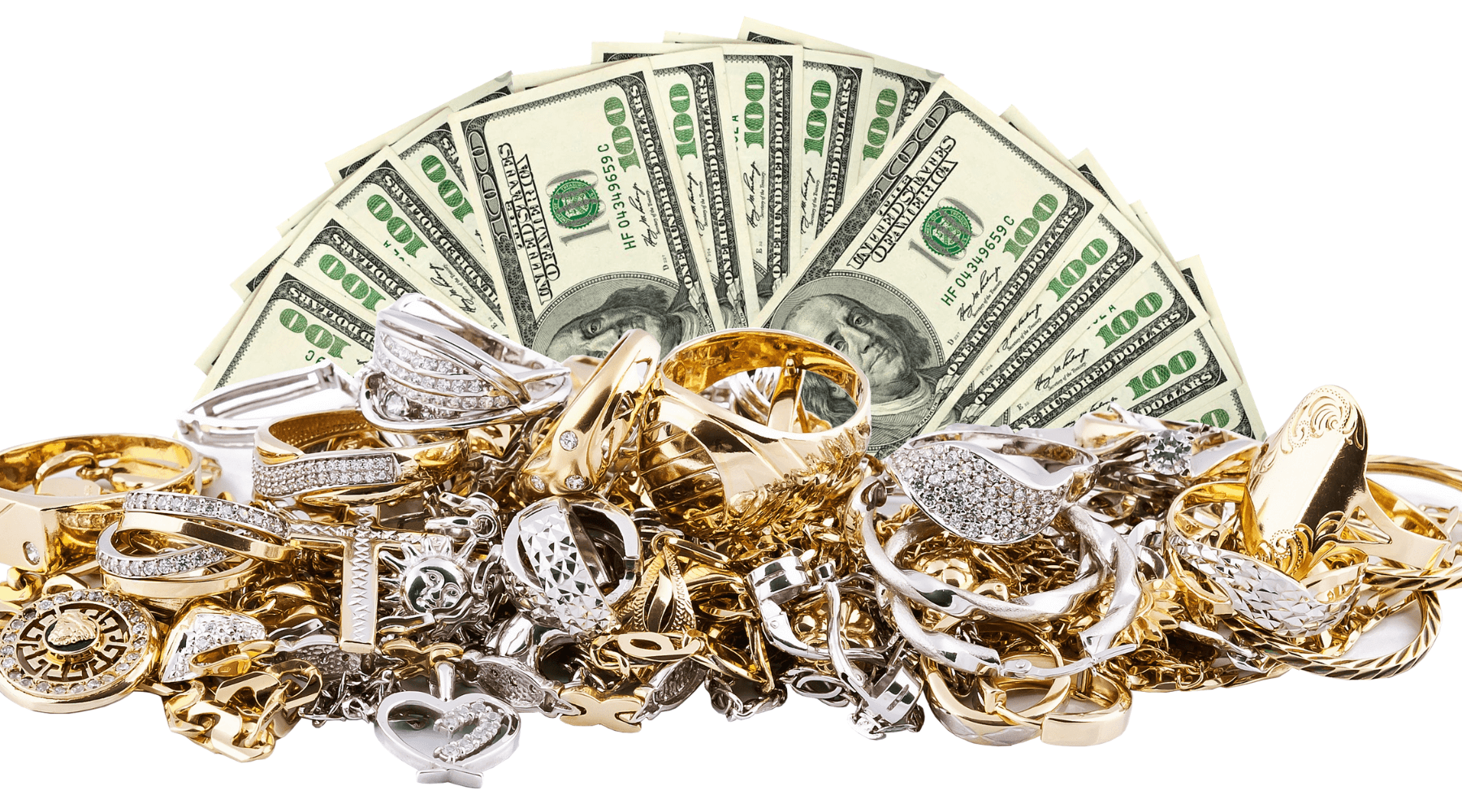 Cash-Gold-Jewelry-Items-stored-in-a-safe