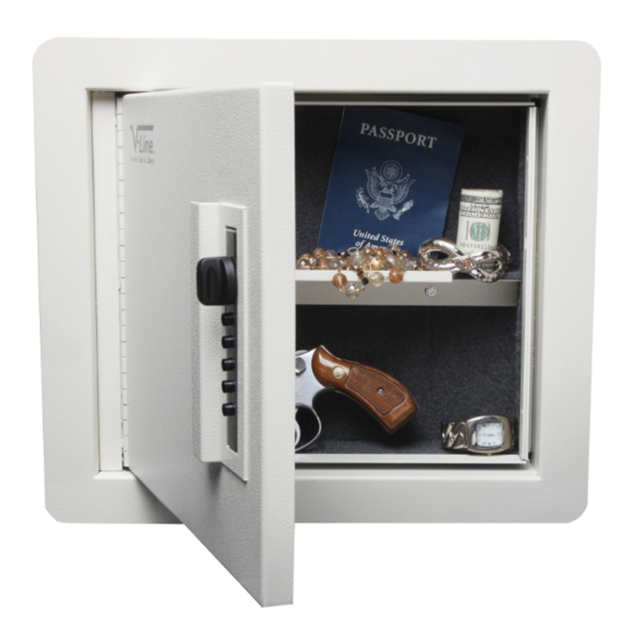 V-Line Quick Vault In-Wall Handgun Safe
