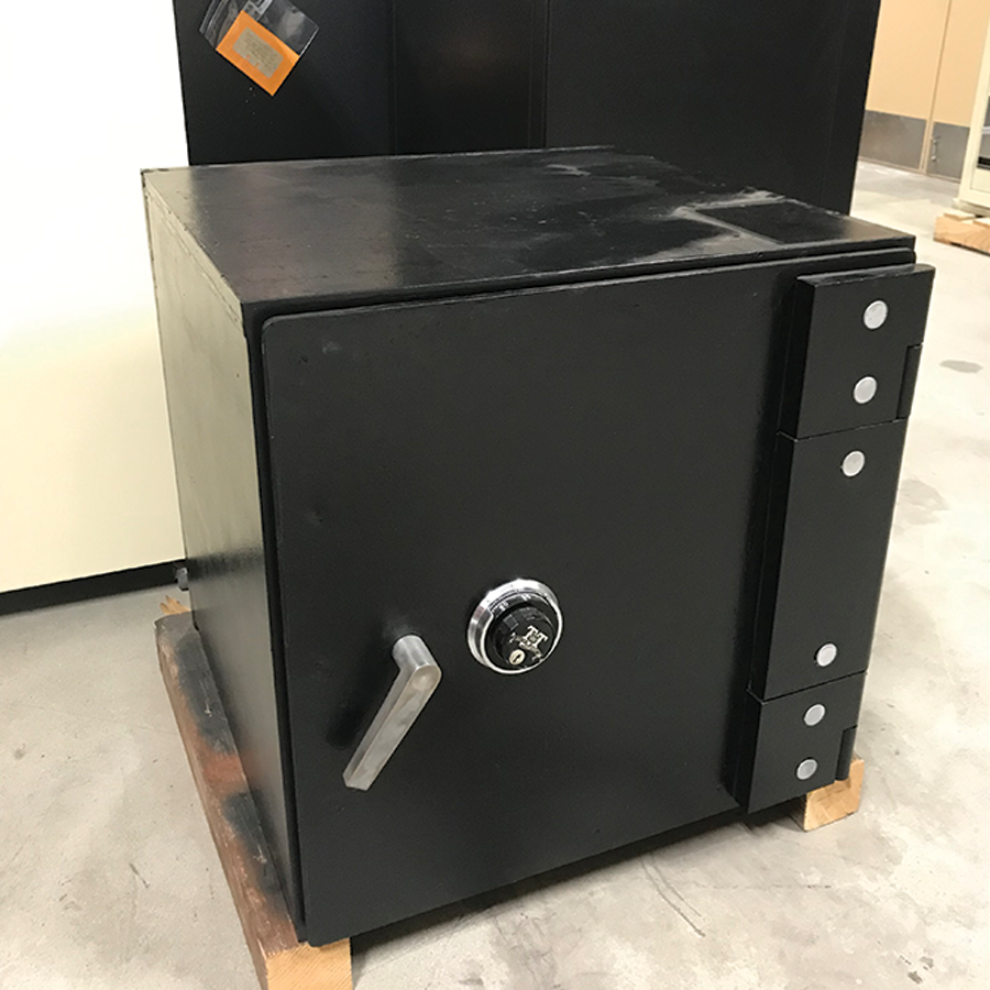 USED Security Safe, black w/mechanical lock