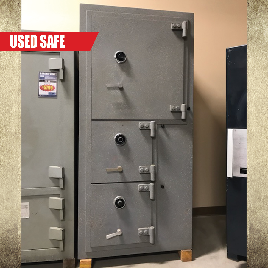 USED ES573 3 Door Safe