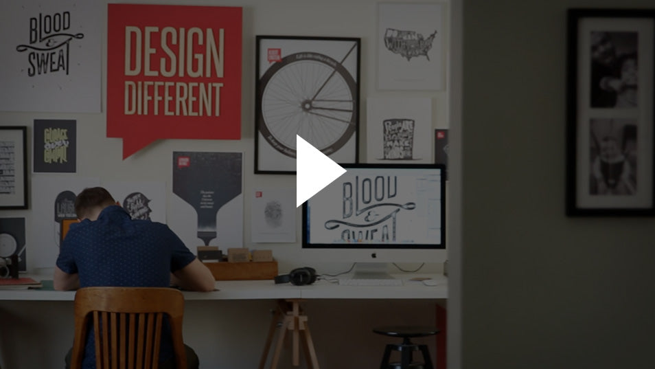 design different - behind the scenes video