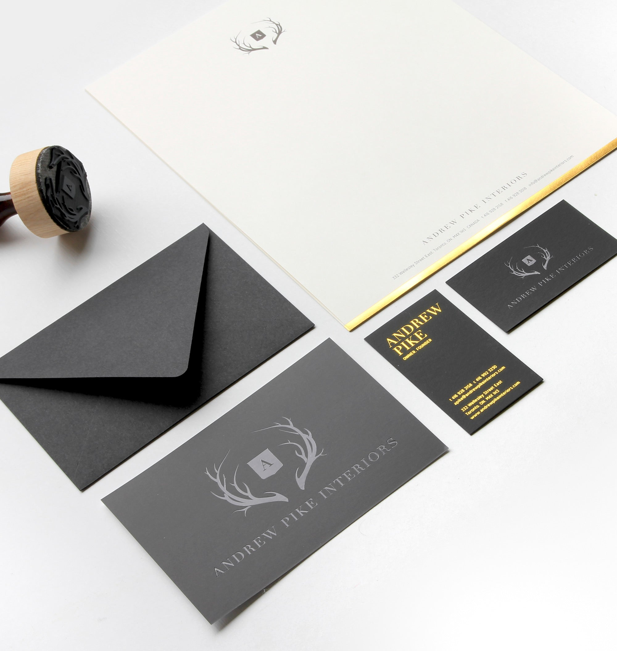 andrew pike - stationary design black