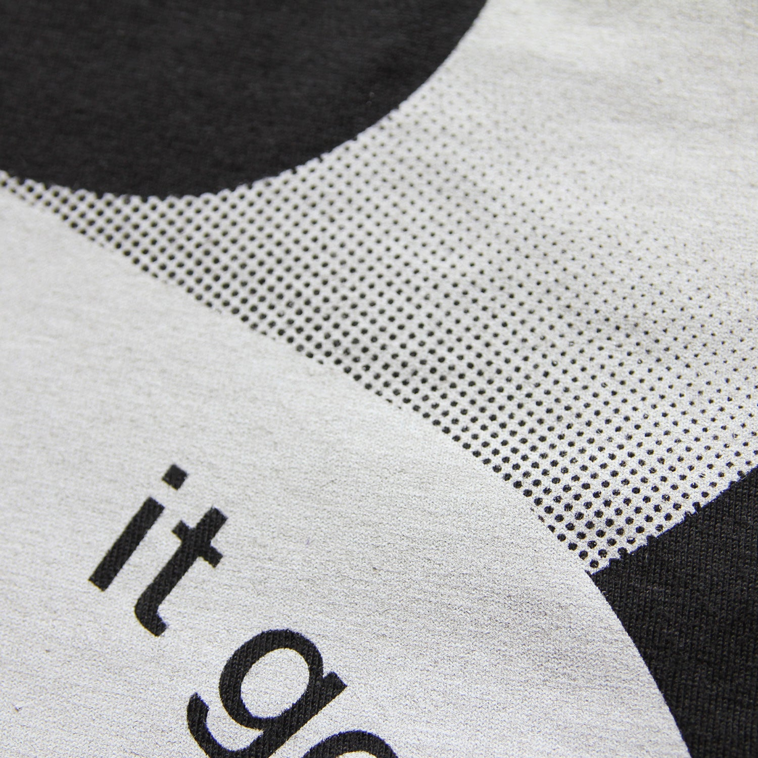 It Goes On - Minimal t-shirt design by Design Different