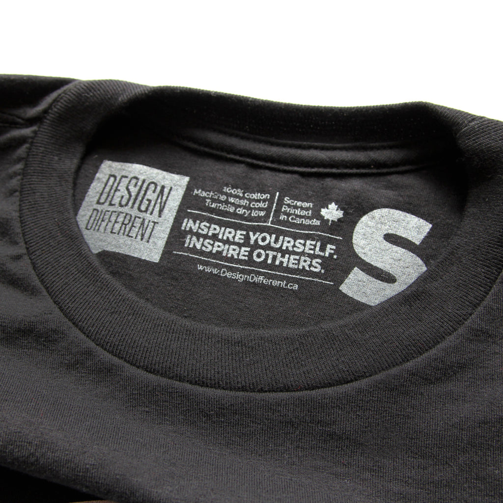t-shirt label design - printed tags