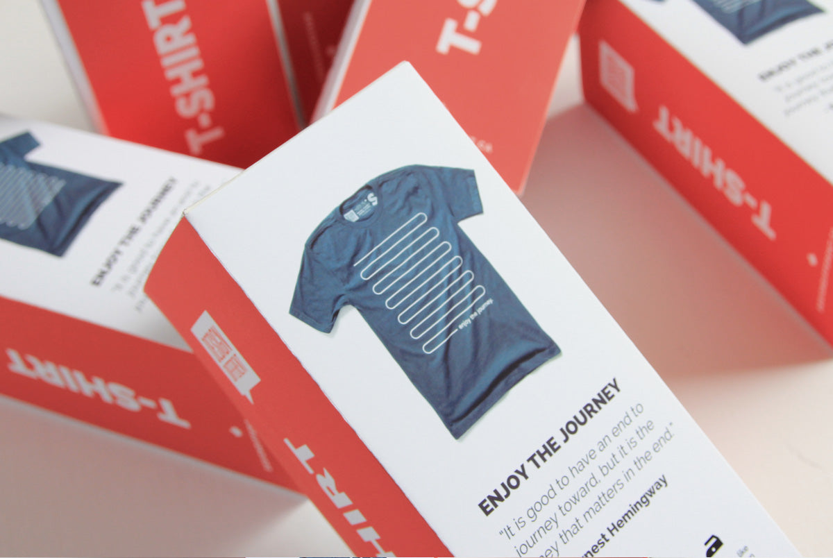 custom t-shirt packaging