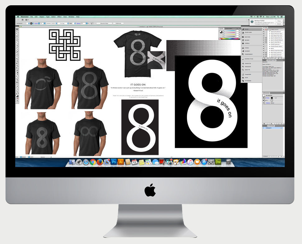 how to design a t-shirt - behind the scenes Design Different