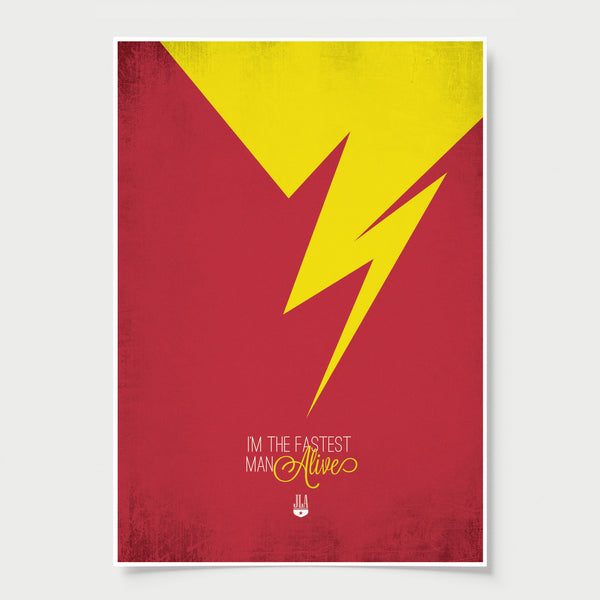 The Flash Minimalist Poster