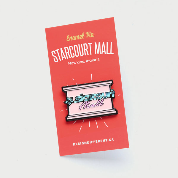 Starcourt Mall (Stranger Things) Enamel Pin