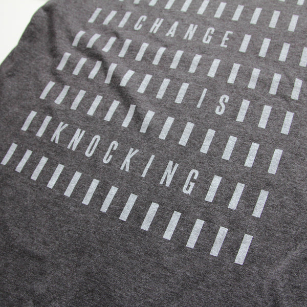 Change is Knocking - Minimal t-shirt