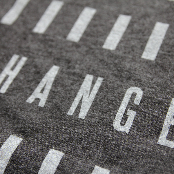 Change is Knocking - Minimal t-shirt design by Design Different