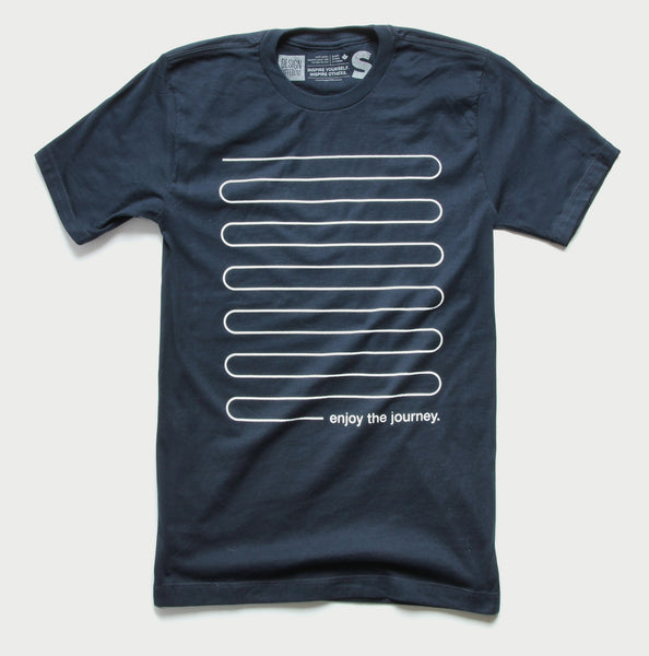 Enjoy the Journey - Minimal t-shirt