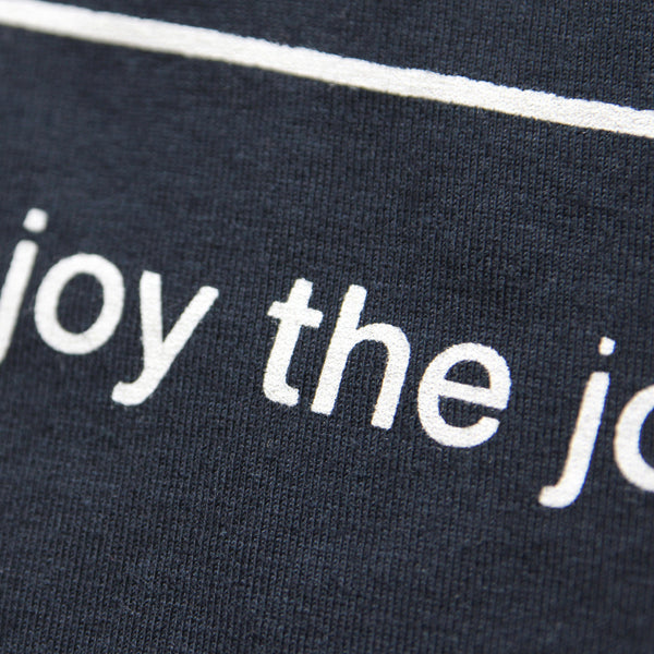 Enjoy the Journey - Minimal T-shirt design by Design Different