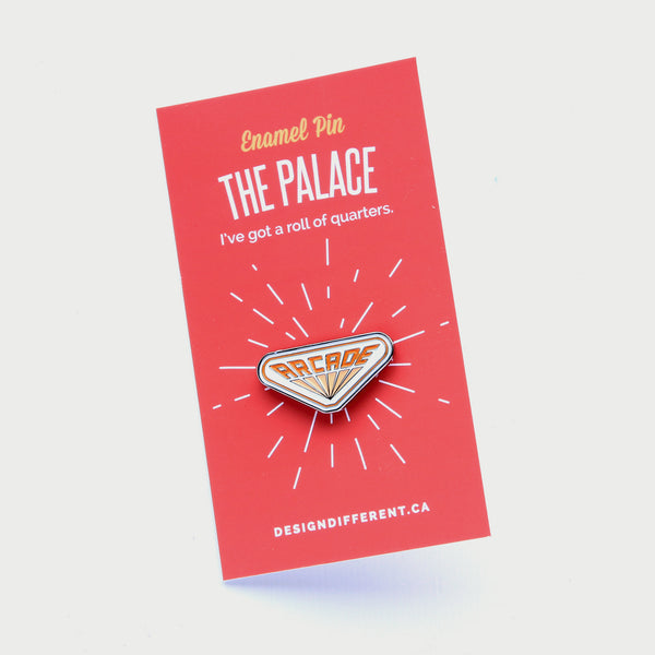 Stranger Things Arcade Enamel Pin