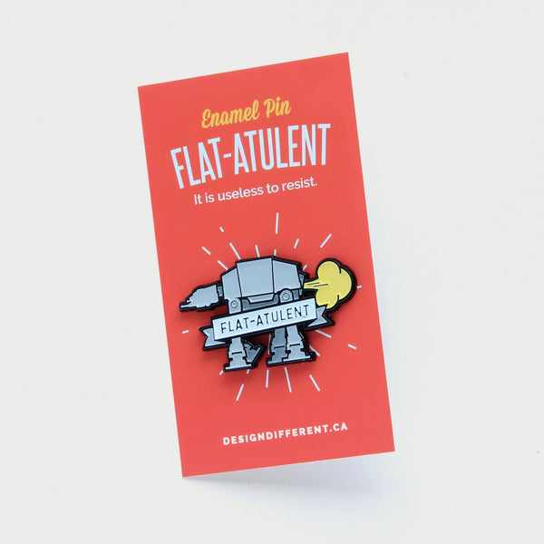 Star Wars AT-AT - flAT-ATulent Enamel Pin