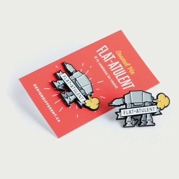 Star Wars AT-AT - flAT-ATulent Pin