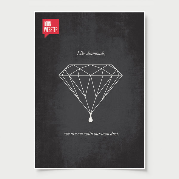 John Webster Minimalist Poster Quote