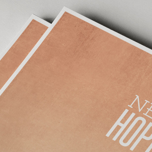 star wars - a new hope minimal poster print