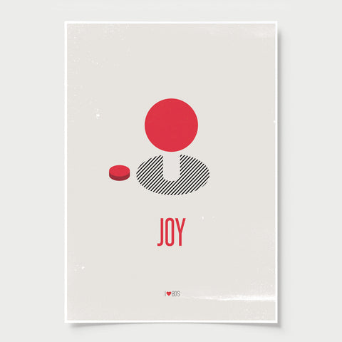 JOY - Retro joystick print