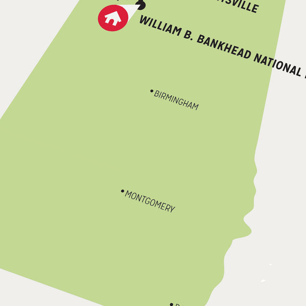 Zombie Safe Zone - Huntsville Map