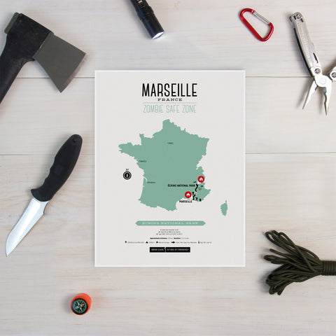 Zombie Safe Zone - Marseille Map