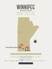 Zombie Safe Zone - Winnipeg Map