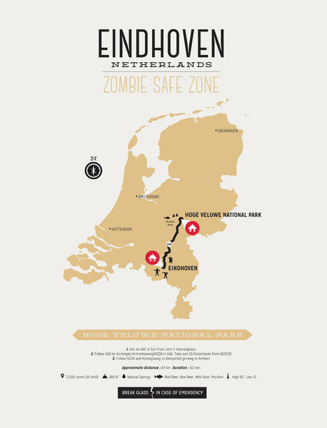 Zombie Safe Zone - Eindhoven Map