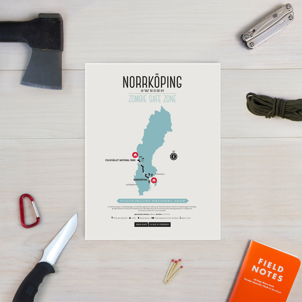 Zombie Safe Zone Norrkoping Map Design Different