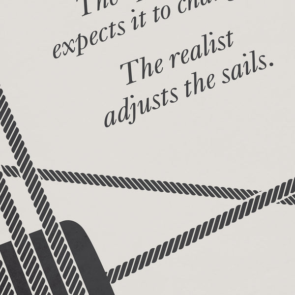 William A. Ward Minimalist Poster Quote