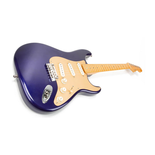 2011 Fender Custom Shop Classic Player V Neck Strat Midnight Blue CZ500093 (signed by Todd Krause)