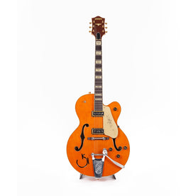 2012 Gretsch G6120DSW Chet Atkins Hollow Body Electric Guitar, Western Maple Stain, JT12104213