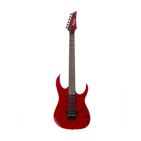 2015 Ibanez RG3770FZ-TR RG Prestige Electric Guitar with Case, Transparent Red, F1518343