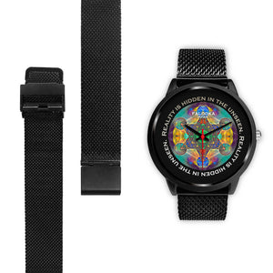 Glowing Hexagram Watch - Hand Made to Order - falooka