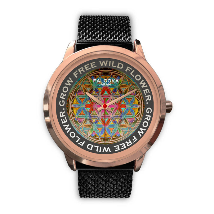 Flower of Life Watch - Hand Made to Order - falooka