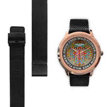 Load image into Gallery viewer, Flower of Life Watch - Hand Made to Order - falooka