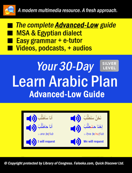 #11 Arabic (ADVANCED-LOW)